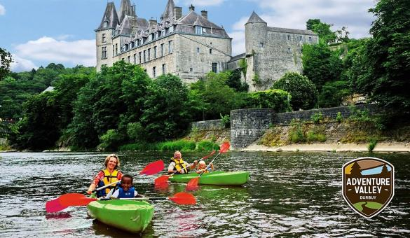 Adventure Valley Durbuy,: discesa del fiume Ourthe in kayak