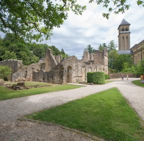 Come and discover the celebrated Notre-Dame d'Orval abbey in Florenville